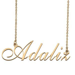 Custom Personalized Adaliz Name Necklace